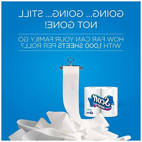Scott Sheets Roll Toilet Paper,