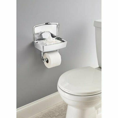 Toilet Holder Chrome Mobile Storage Best