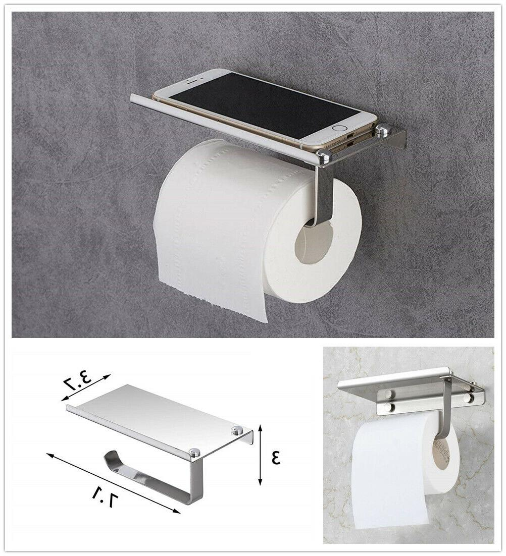 1 toilet paper holder with mobile phone