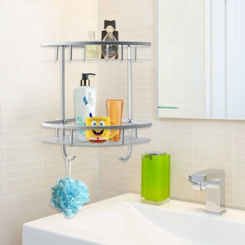 Toilet Mobile Shelf Holders Mounted Rack US