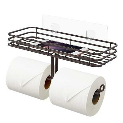 toilet paper holder with shelf tissue paper