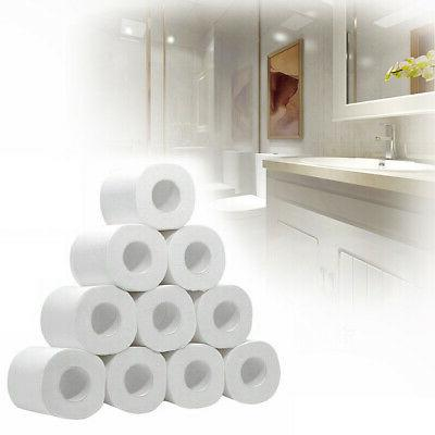 10~50Rolls Toilet Paper Environment Friendly Recycled Tissue