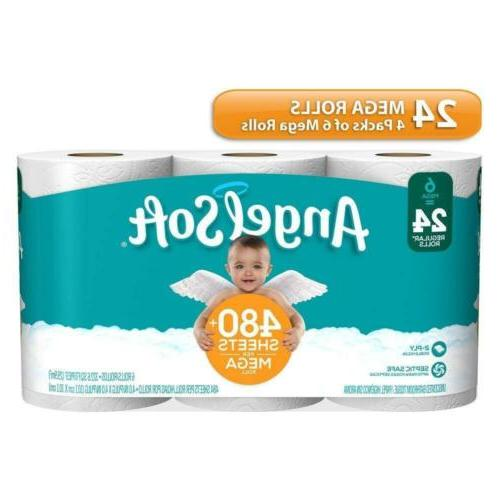 Angel Toilet Mega Bath 24 Count