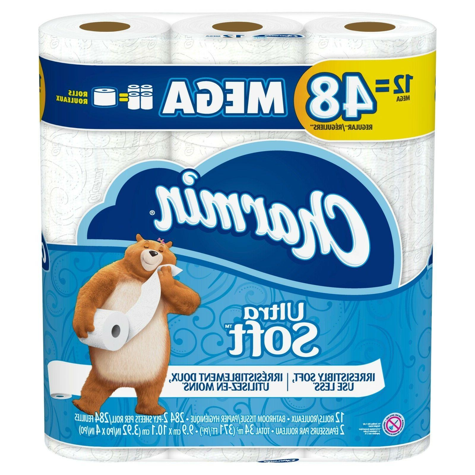 Charmin Paper Bath Tissue Soft Mega OR -