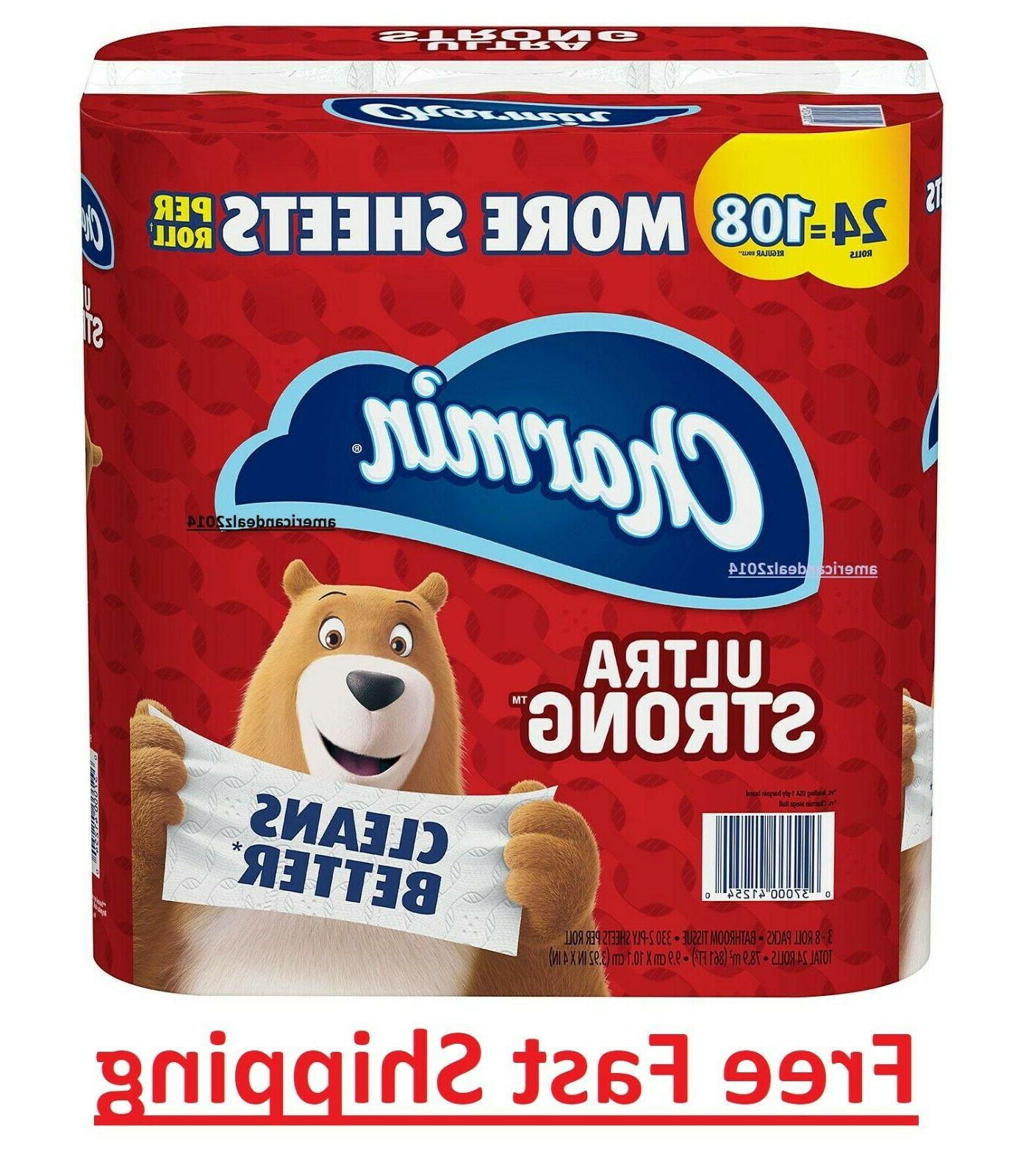 Charmin Toilet Paper Roll Bath Tissue ULTRA STRONG 24 Mega P