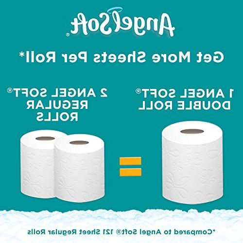 Angel Soft Toilet Lavender 12 Double Rolls, 12 =