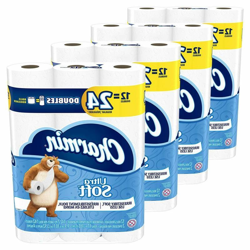 toilet paper ultra soft 48 double rolls