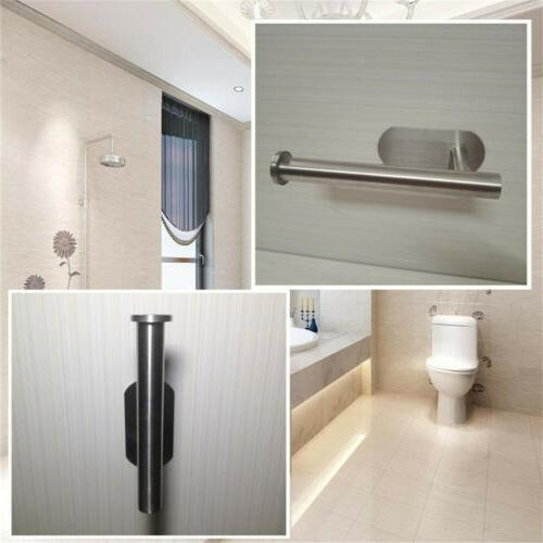 Toilet Roll Adhesive Paper Holder For Wall