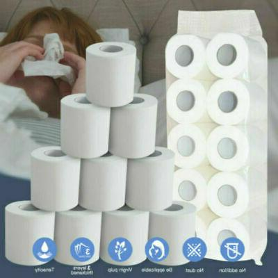 top quality 12 rolls toilet paper bulk