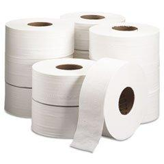 -- TRADITION JRT Jumbo Roll Bathroom Tissue, 2-Ply, 8 9/10""