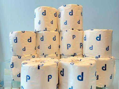 Two-Ply White 400 12 Rolls