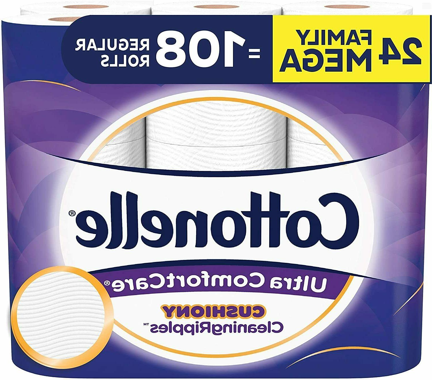 ultra comfortcare soft toilet paper cushiony cleaningripples