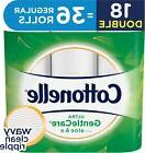 Cottonelle Ultra GentleCare 18 Double Rolls, Toilet Paper, S