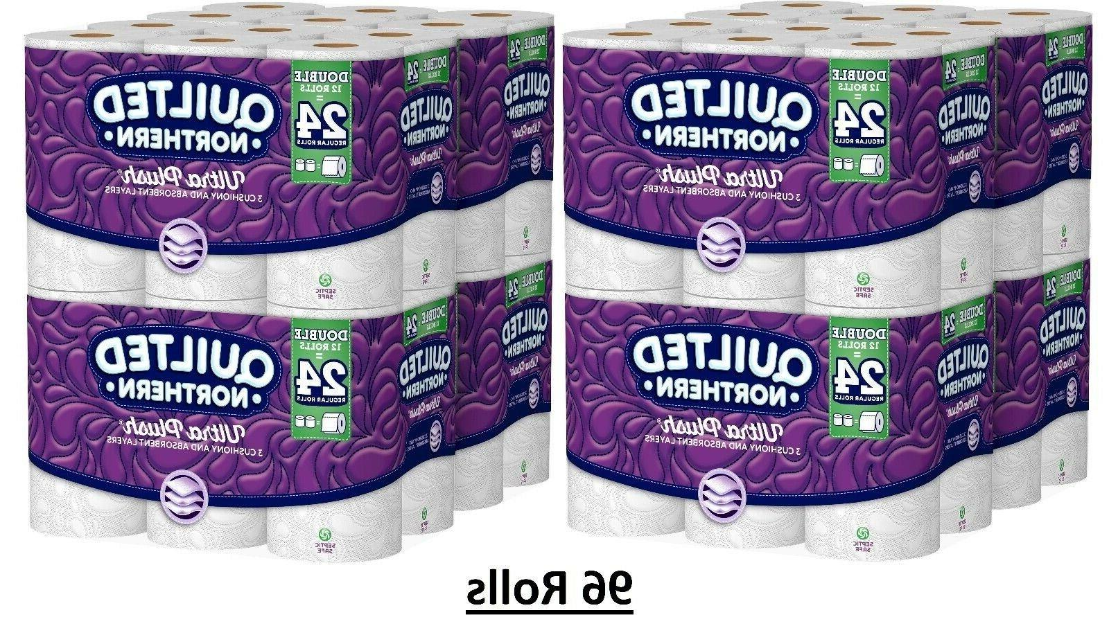 Quilted Northern Ultra Plush Bath Tissue Rolls Toilet Paper
