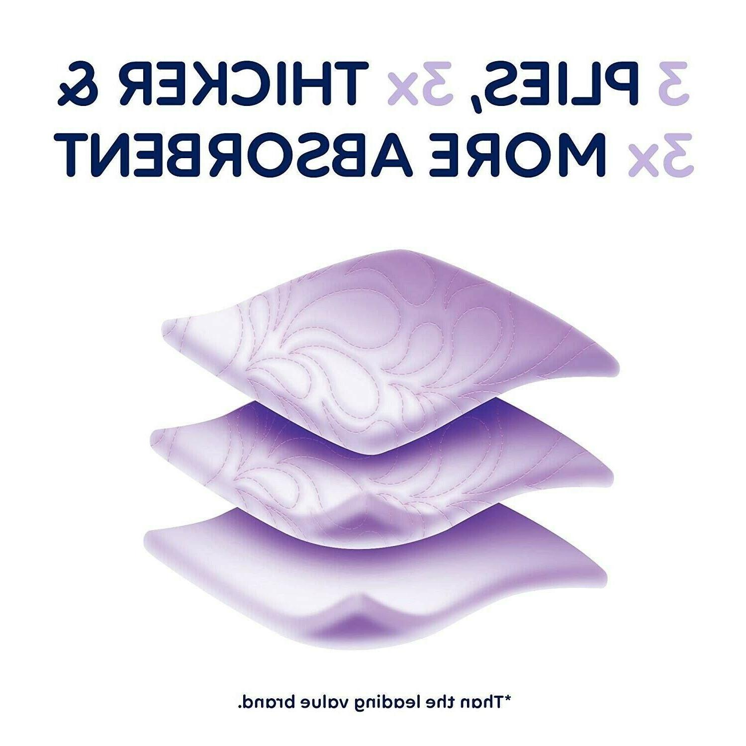 Quilted Plush Bath Tissue 24,48,96 Double Rolls Paper NEW