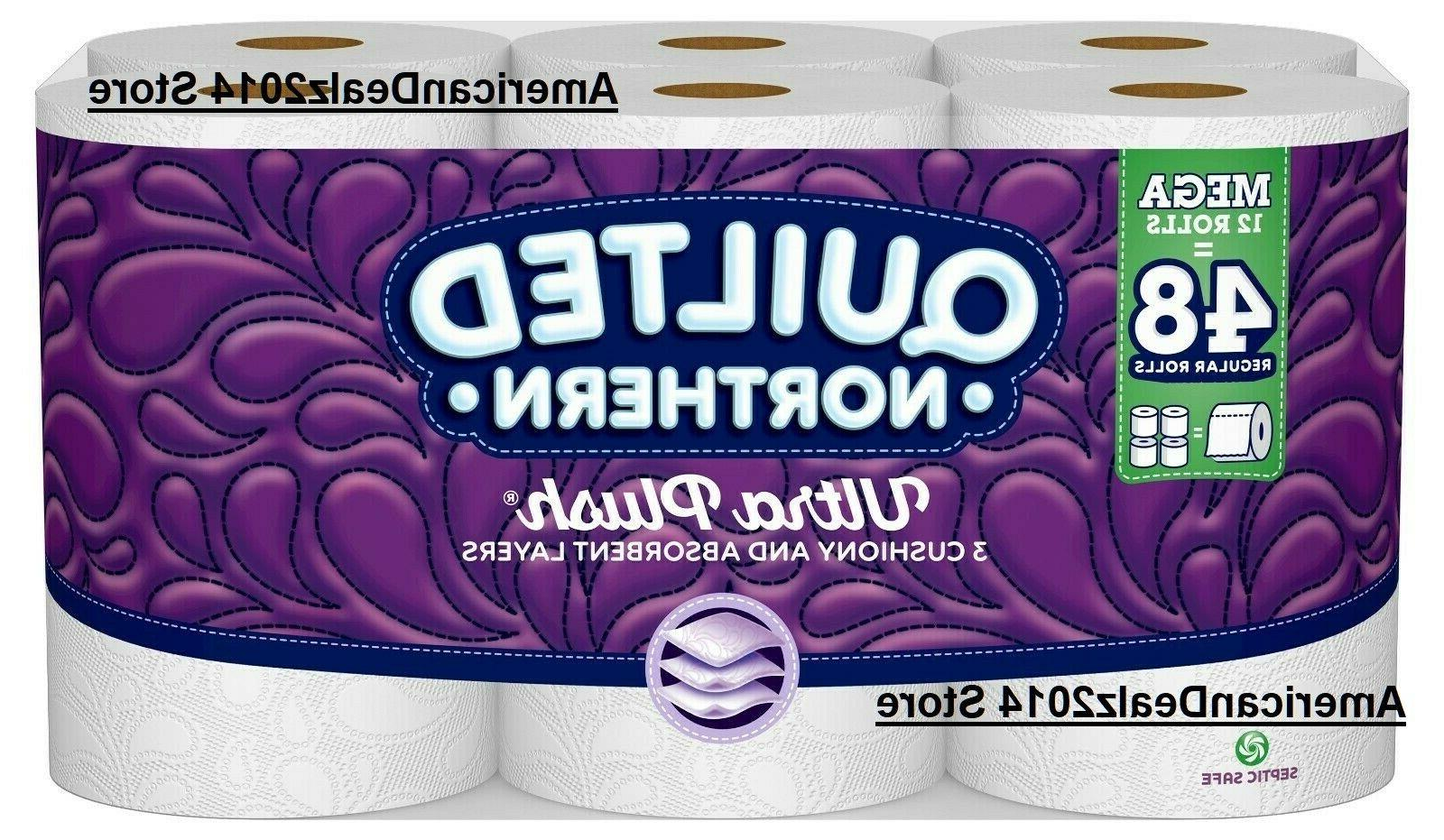 ultra plush bath tissue 48 or 96