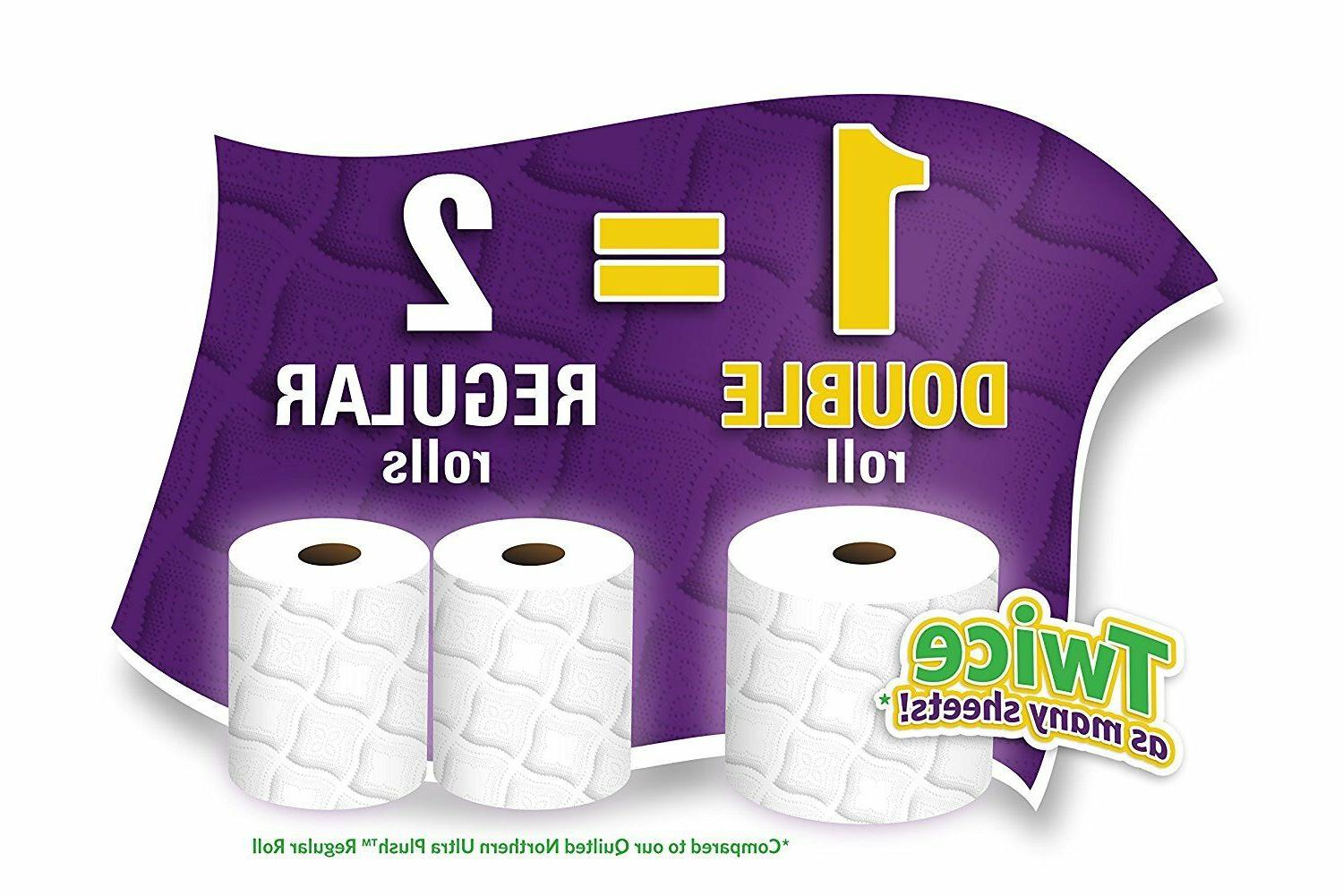 Quilted Bath 48 96 Double Rolls Paper NEW