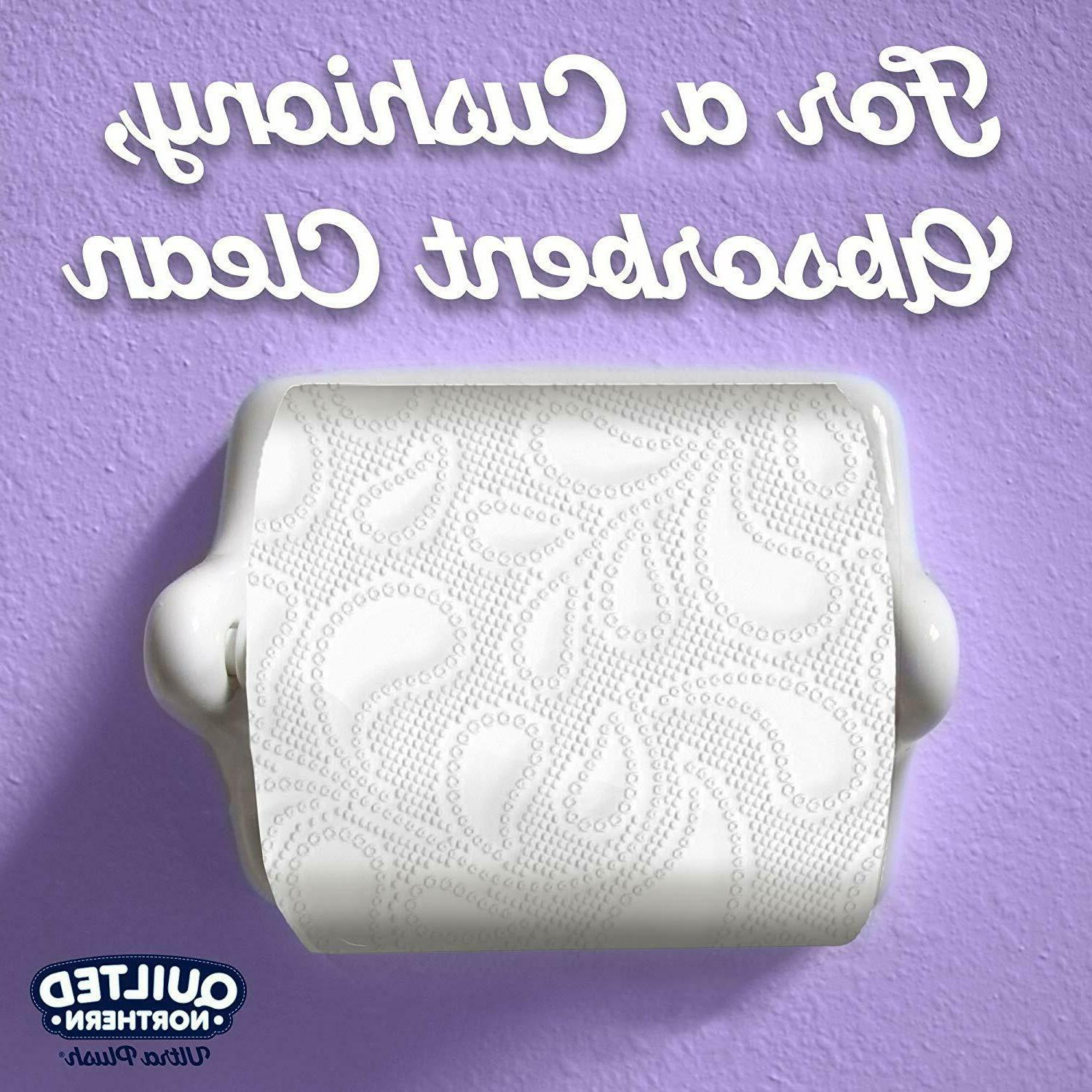Quilted Toilet 3-Ply Sheets Per