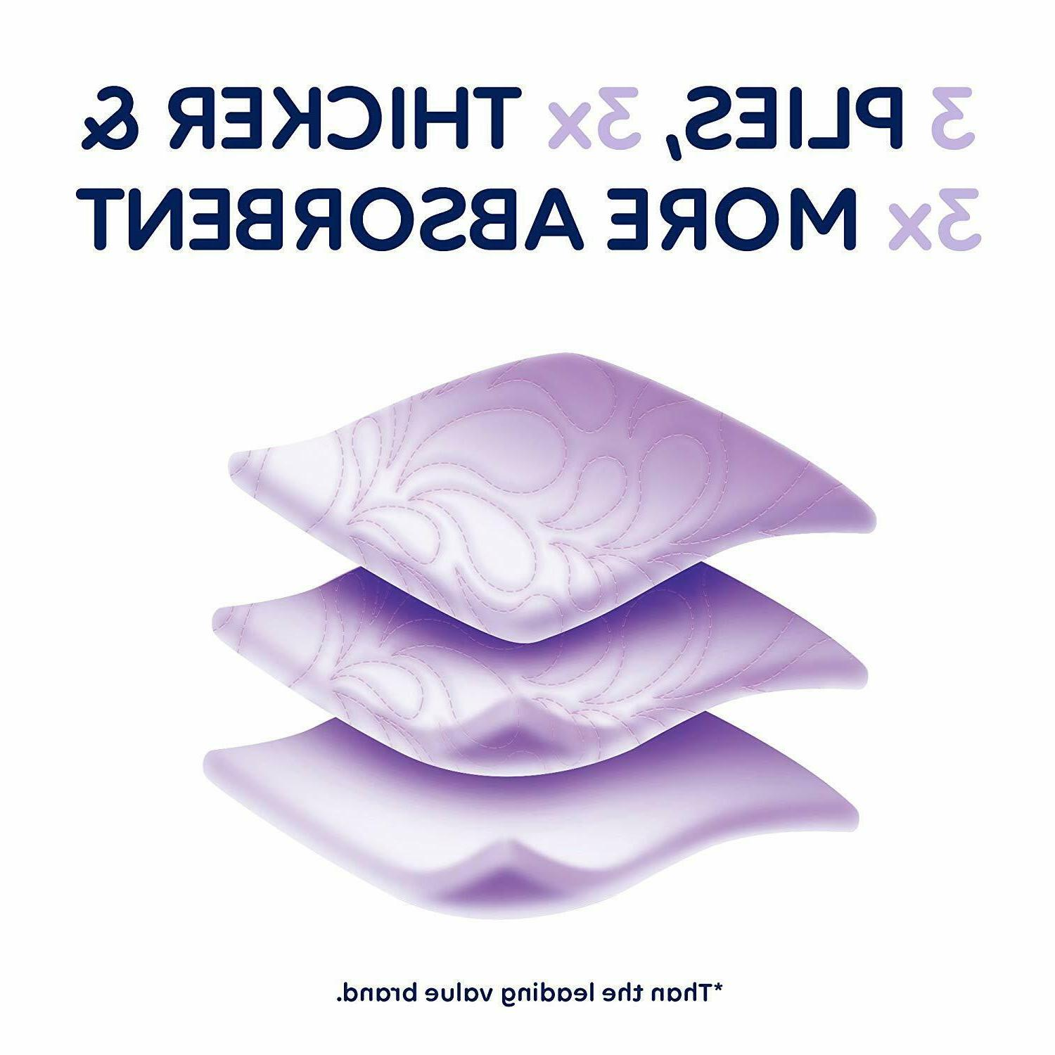 Quilted 48 Double Rolls Ply Ultra Plush Tissue 4x12