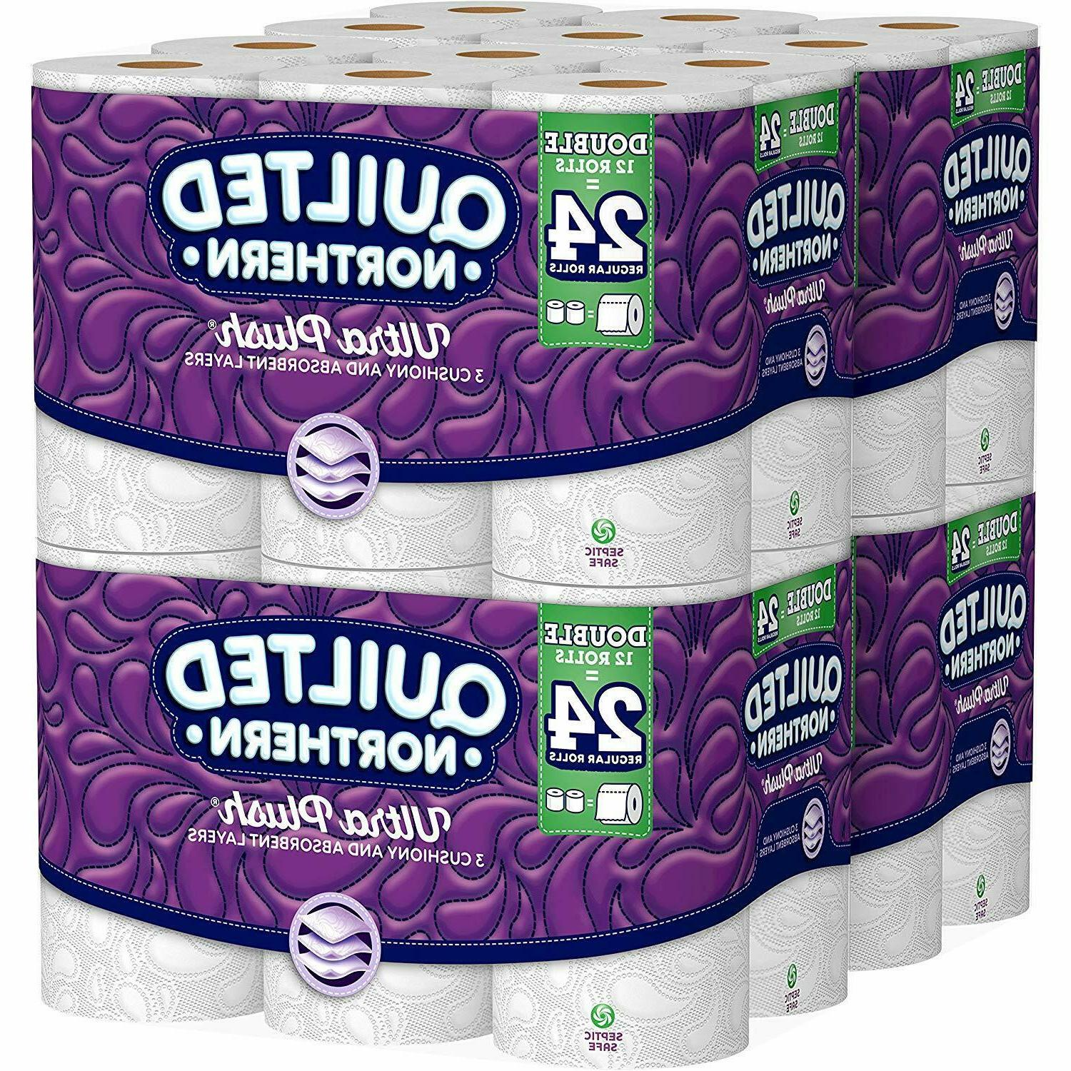 toilet paper 48 double rolls 3 ply