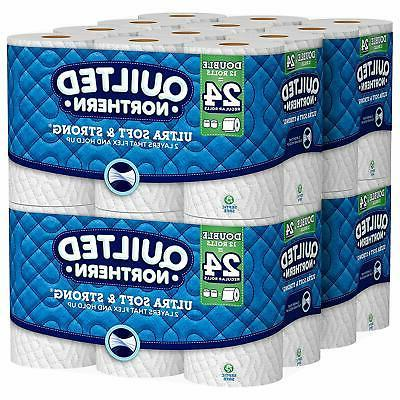 Quilted Northern Ultra Soft & Strong Toilet Paper with Clean