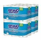 ultra soft and strong toilet paper bath
