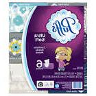 Puffs Ultra Soft Facial Tissues, 6 Family Boxes, 124 Tissues