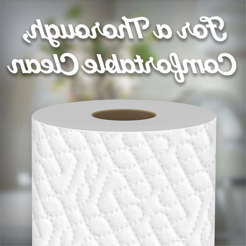 Quilted Ultra Strong Toilet Paper, 96 Regu
