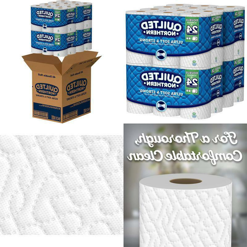 Quilted Northern Ultra Soft  Strong Toilet Paper, 48 Double