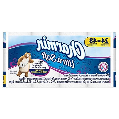 ultra soft toilet double paper