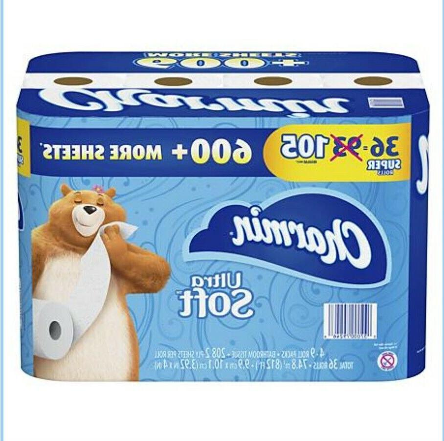 ultra soft toilet paper 208 sheets roll