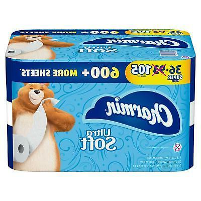 ultra soft toilet paper 36 super roll