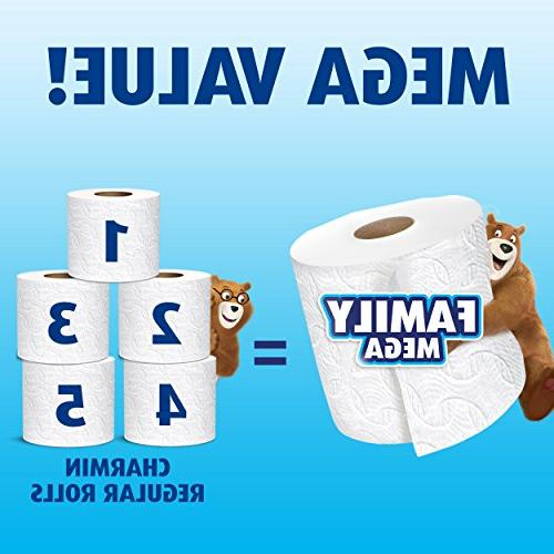 Charmin Ultra Clean Touch Toilet 24 Family Mega