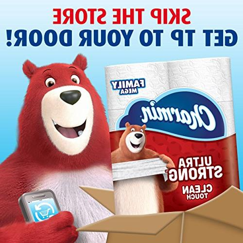 Charmin Touch Toilet Family Rolls
