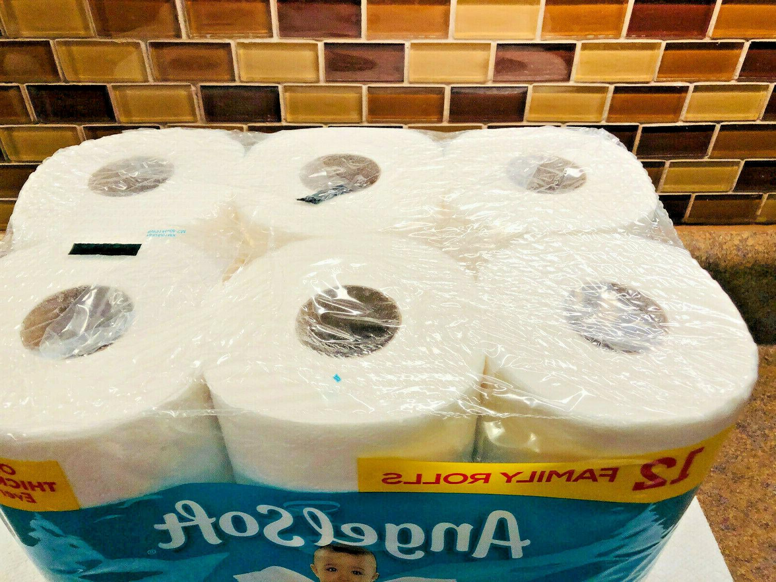 ANGEL SOFT Ultra Toilet Paper, ROLLS