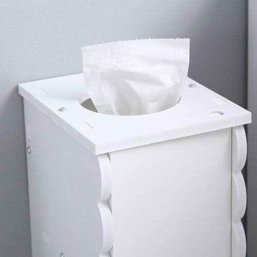 US Stock Roll Bathroom Storage Cabinet Free