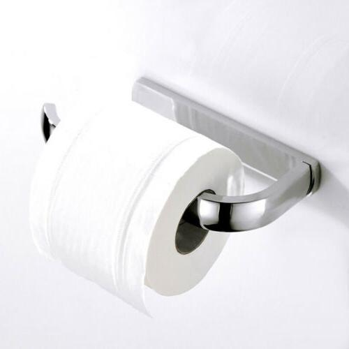 Stainless Steel Toilet Paper Holder Wall Mount Tissue Paper