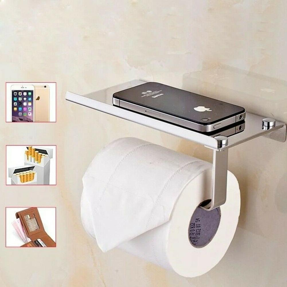 Wall Mounted Bathroom Toilet Paper Phone Tissue