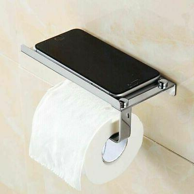 Wall Mounted Steel Toilet Holder with
