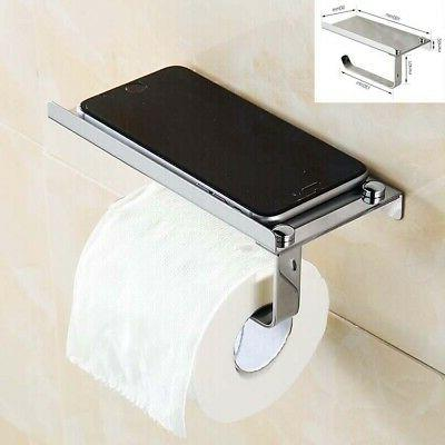 wall mounted stainless steel toilet paper mobile