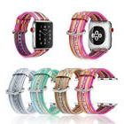 For Apple Watch Band 38mm Series 3 Series 2, 1 Premium Leath