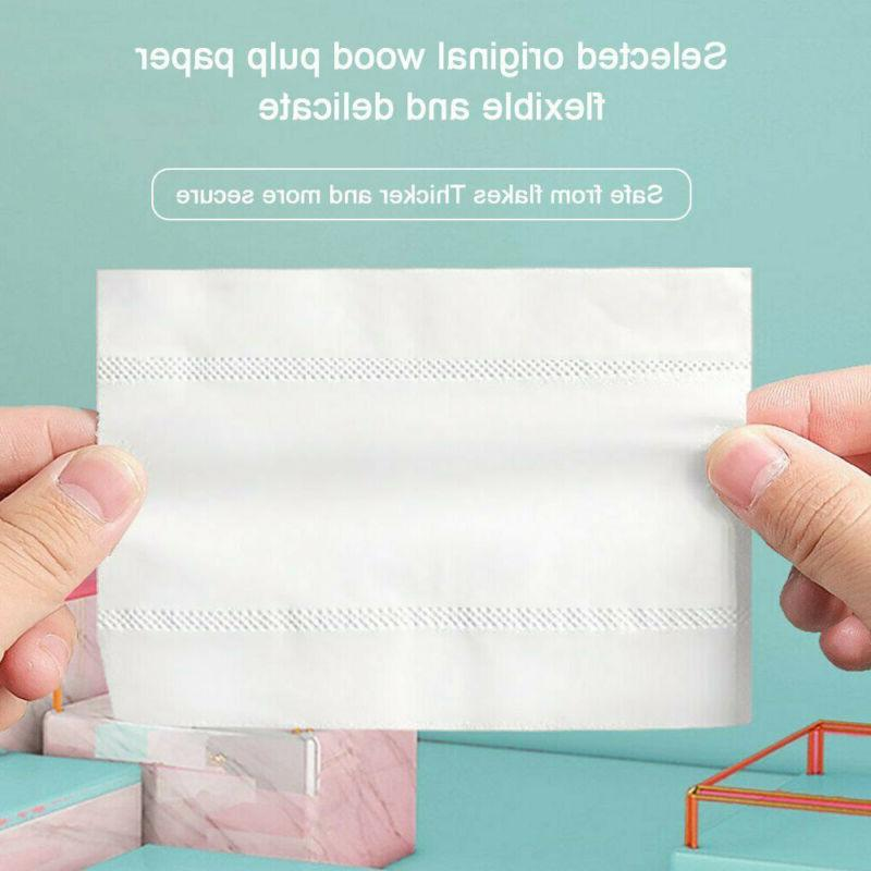 White Soft Papers 10 Rolls- Household Bathroom