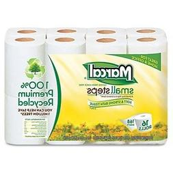 marcal 100 percent recycled 2 ply toilet
