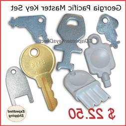 Georgia Pacific  Master Key Set for Paper Towel, Toilet Tiss