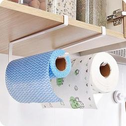 Practical Bathroom Toilet Paper Roll Holder Towel Shelf Hang