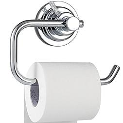 BOPai Modern Vacuum Suction Cup Toilet Paper Holder,Removabl