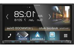 New Kenwood DMX7705S Double 2 DIN Media Player Android iPhon