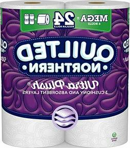 New*Quilted Northern Ultra Plush 3-Ply Bath/Toilet Tissue/Pa