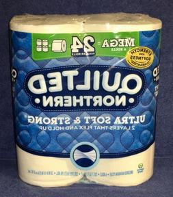 Northern Quilted 6 Mega = 24 Ultra Soft Toilet Paper 2-ply