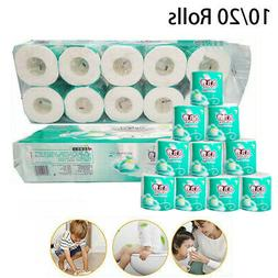 Optional Quantity Toilet Paper Bulk Roll Bath Tissue Bathroo